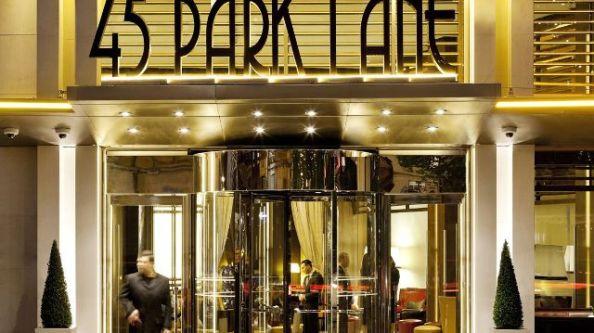 45 Park Lane Entrance