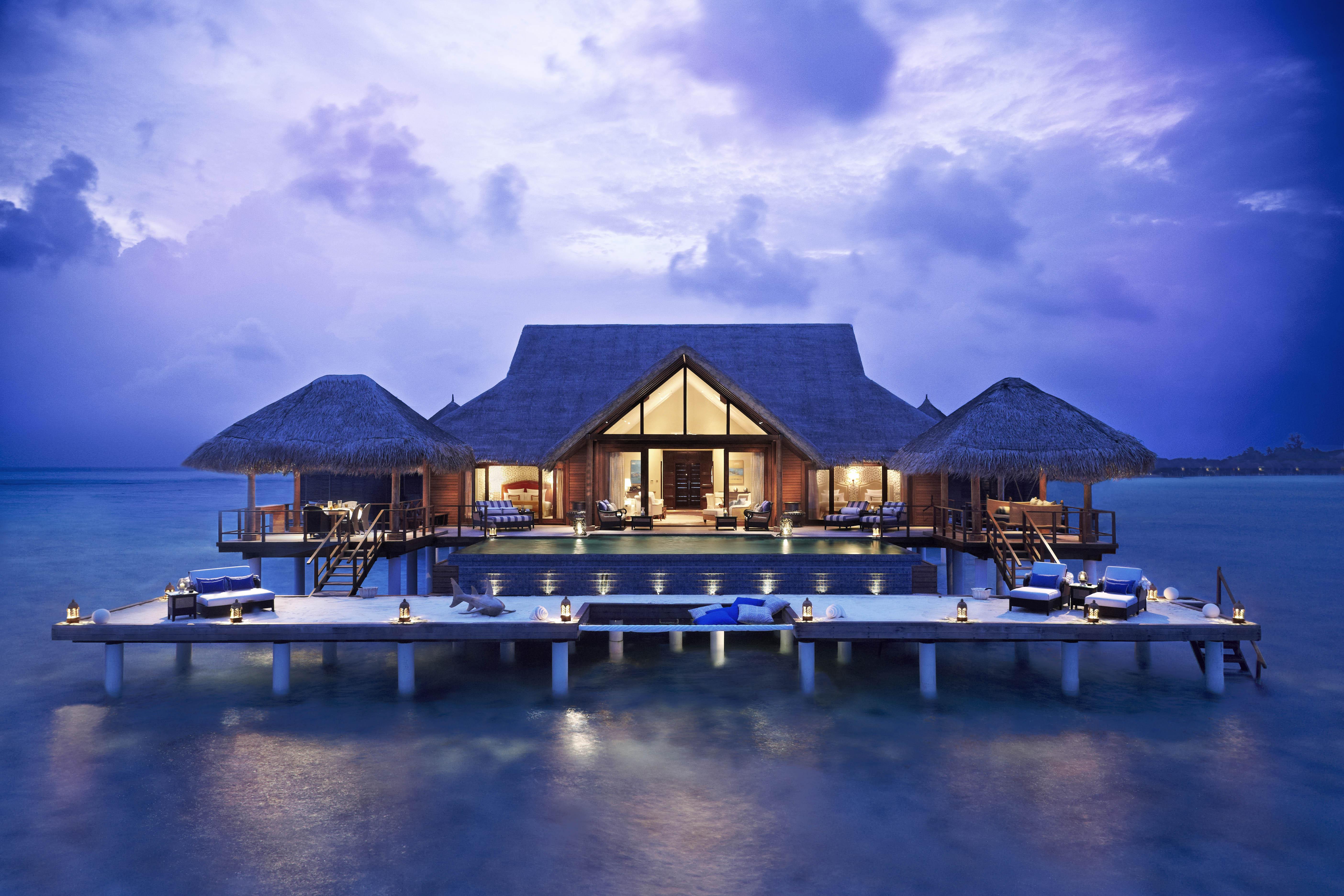 Мальдивы номера отеля отдых The Maldives the rooms the rest  № 334039 бесплатно