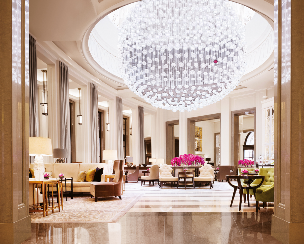 Top ten things to love at london s corinthia hotel the for Interior design lighting uk