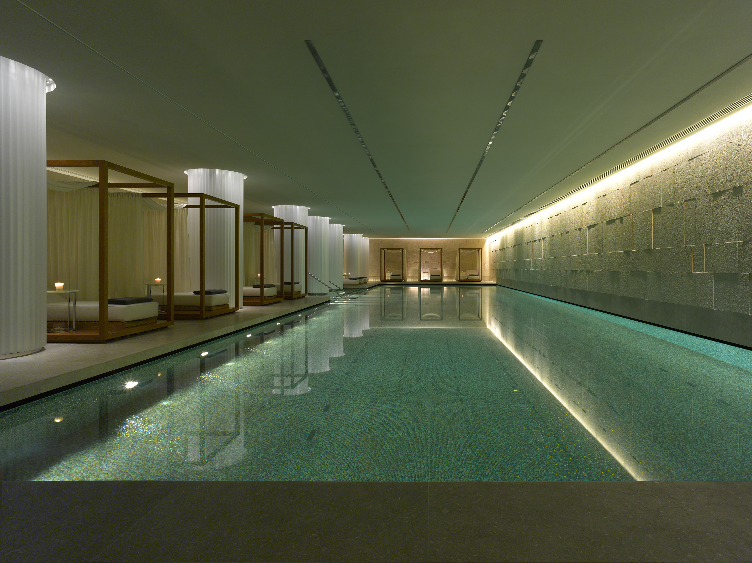 Top ten swimming pools in london the tiny traveller 39 s for Best modern hotels in london