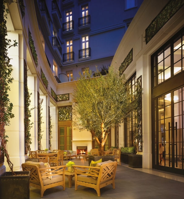 Inner Courtyard Corinthia London