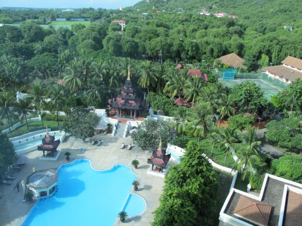 Mandalay Hill Resort, Mandalay, Burma