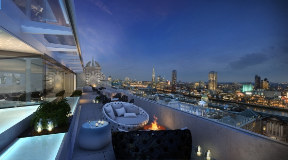 Radio Rooftop Bar ME by Melia London