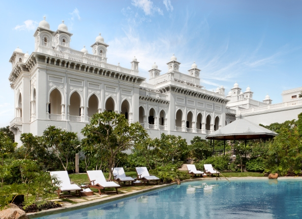 Falaknuma Palace Swimming Pool Hyderabad