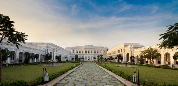 Falaknuma Palace Hyderabad  Courtyard