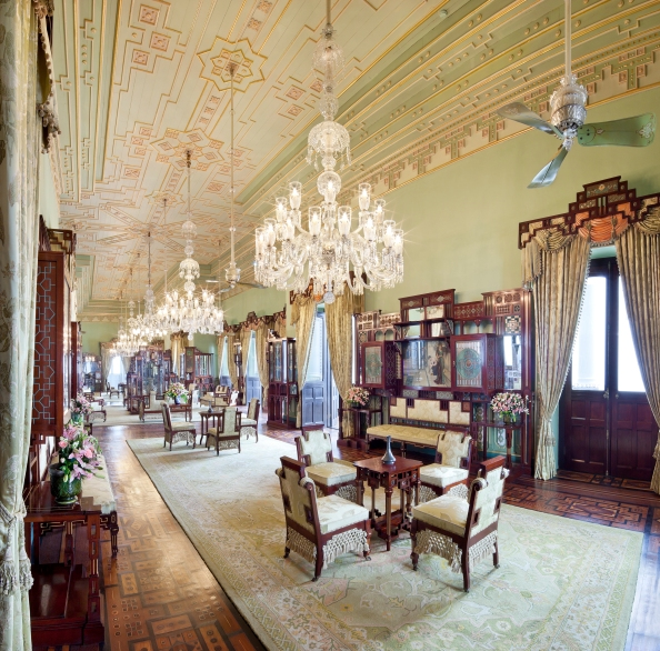 Falaknuma Palace Hyderabad  Jade Room