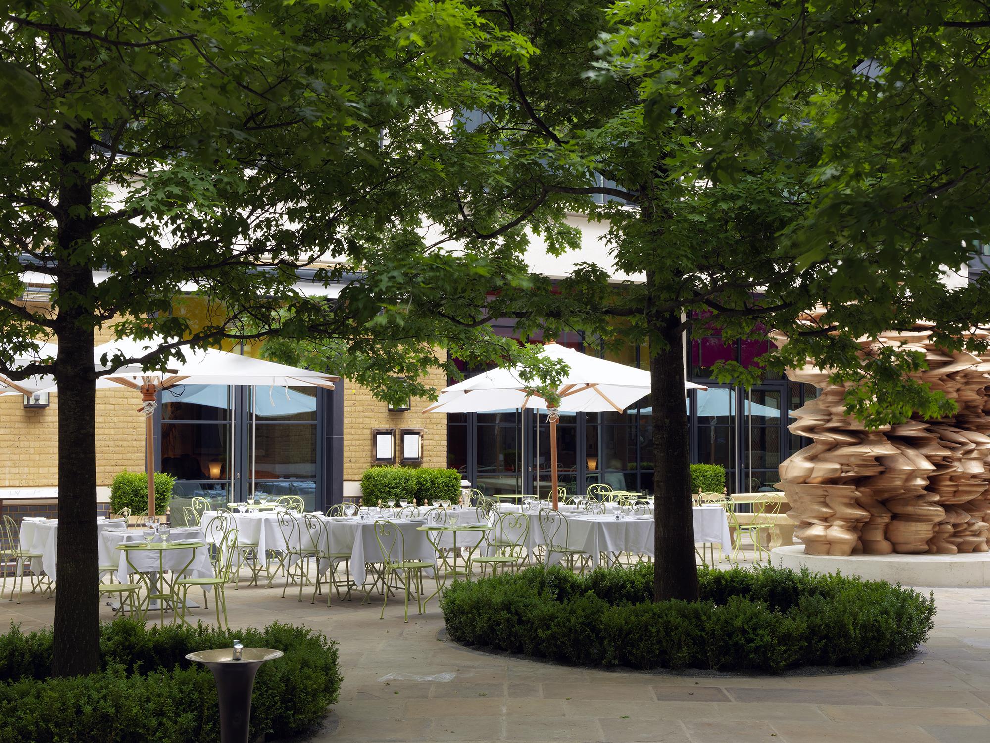 Ham Yard Courtyard Firmdale Top Ten Things