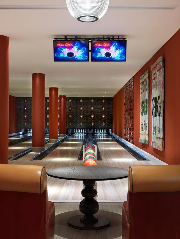 Bowling Alley Ham Yard Firmdale