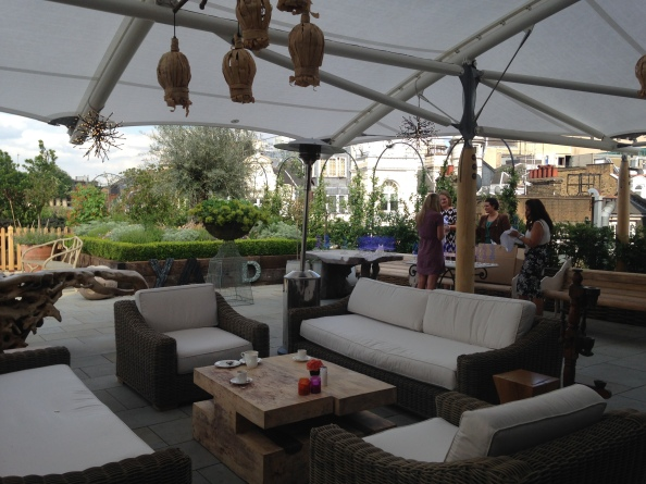 Rooftop Bar Ham Yard London Firmdale